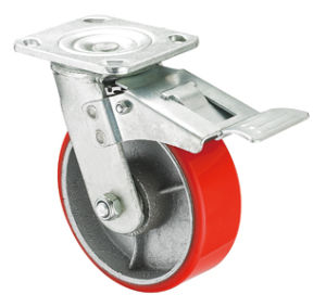Heavy Duty Caster Series- 8in. W/Dual Brake pictures & photos