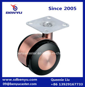 Metal Hardware Part Alloy Wheel for Swivel Chair pictures & photos