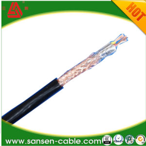 Rvp PVC Copper Core Shielding and PVC Insulated Flexible Cable pictures & photos
