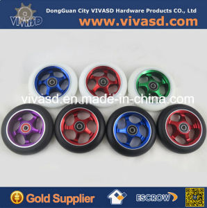 110 mm CNC Machining Aluminum Scooter Wheels pictures & photos
