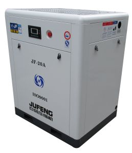 Jufeng VSD Screw Air Compressor Jf-20az Direct Driven Variable Frequency (8 Bar) 20HP/15kw