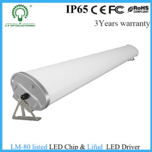 PC Cover IP65 Fixture 40W 1.2m 4FT LED Tri-Proof Light