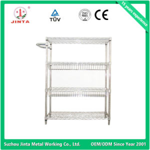 Factory Direct Stainless Steel Wire Display Rack (JT-F02) pictures & photos