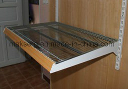 Movable Supermarket Steel Shelf Zinc Coated pictures & photos