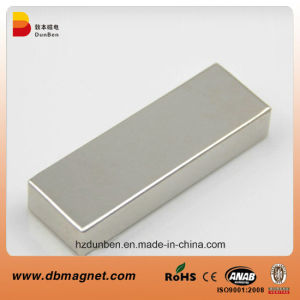 Permanent Customized Block NdFeB Magnet pictures & photos