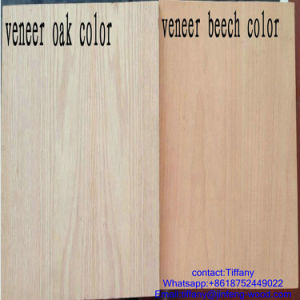Dubai Market 3*7ft Size 6mm Thickness Nature Teak Plywood Board for Door Skin pictures & photos