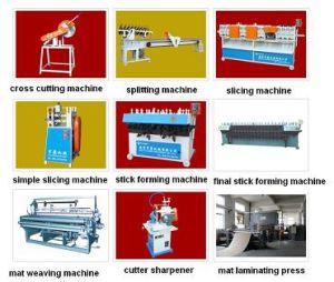 Bamboo Mat Making Weaving Laminating Machine Manufacturing Line Plant