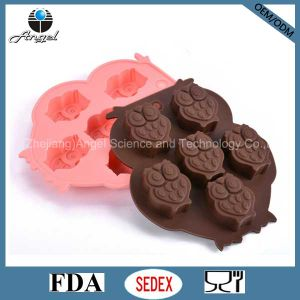Cutie Owl Silicone Ice Chocolate Mold Cookie Tool FDA Approved Si08