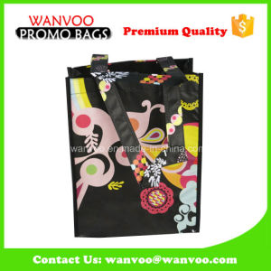 Custom PP Woven Laminated Shopping Tote Bag in Packing Bags pictures & photos