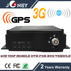 4 Channel720p Mobile DVR 4CH Support 3G WiFi GPS pictures & photos