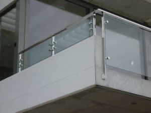 Balcony Stainless Steel Glass Balustrade Design pictures & photos