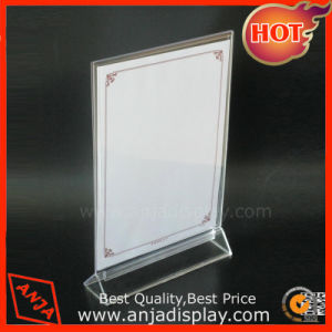 Acrylic Display Stand Acrylic Menu Holder pictures & photos