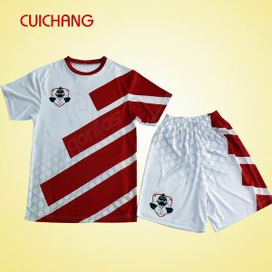 Custom Football Uniform Polyester Soccer Jersey Sportswear Football Shirt (AF-001) pictures & photos