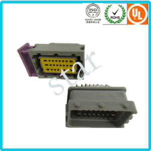 High Quality Automotive Vehicle ECU 24 Pin Male Female Connector pictures & photos