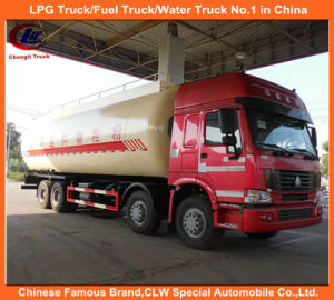 Heavy Duty HOWO 371HP Dry Powder Bulk Cement Tank Trucks 25tons for Sale pictures & photos