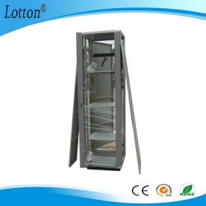 Server Cabinet with Glass Door