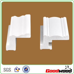 PVC Poly Shutter Components Deco Frame Window