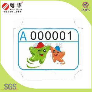 Printed Paper 180g Redemption Ticket for Lottery Ticket Game Machine pictures & photos