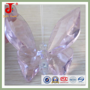 Crystal Glass Pink Butterfly (JD-CA-104) pictures & photos