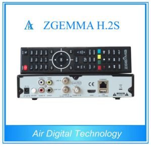 Twin DVB-S2 Tuner Satellite Receiver Zgemma H. 2s Enigma2 Linux Set-Top-Box pictures & photos