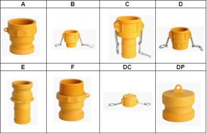 Nylon Type D Female BSPP Threaded Camlock Fittings pictures & photos