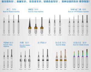 Zirconia Burs for VHF Machine
