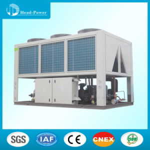 Industrial Marine Air Cooled Screw Water Chiller Use Copper Tubes Copper Fins pictures & photos