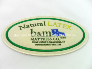 Wonderful High Quality Mattress Label Embroidery Label pictures & photos
