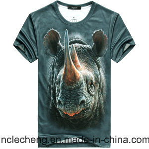 Heat Sublimation Printing Fashion Men′s T-Shirt