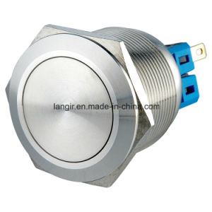 25mm Self-Locking 1no1nc Stainless Steel Push Button Switch IP65 pictures & photos
