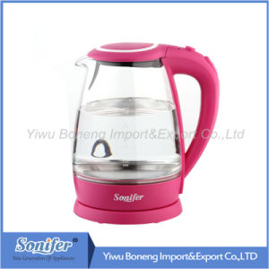 Glass Electric Kettle Sf-2005 (black) 1.8 L Stainless Steel Electric Water Kettle pictures & photos