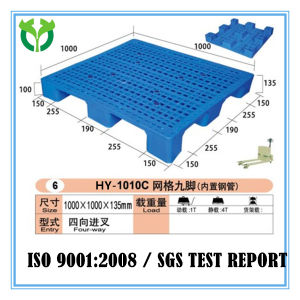 1000*1000 9 Legs Wholesale Supplier Factory Cheap Price Plastic Pallet