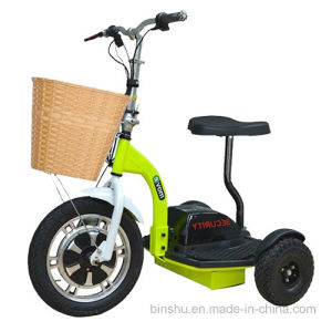 Hot Sale 3 Wheel Electric Mobility Scooter with Brushless Motor pictures & photos