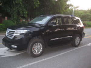 4*4 Armored SUV / Right Hand Drive, Diesel / Manual 5 Speed / ((TBL5030XYCFB)