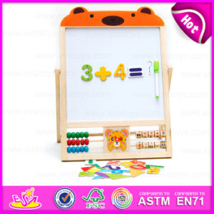 Educational Math Wooden Counting Frame Learning Toy, Early Learning Wooden Study Blackboard Toys for Christmas W12b084A pictures & photos