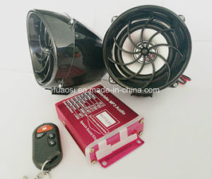 Waterproof Decoration Motorcycle Audio with Cap Shape Speaker