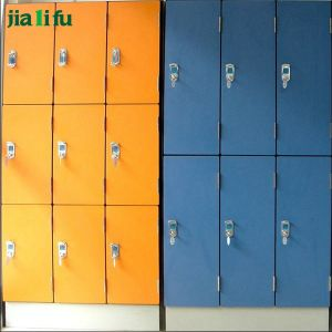 Jialifu 4 Tier HPL Storage Locker for Sport Center pictures & photos