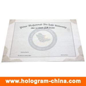 Anti-Fake Security Customized Design Watermark Certificate pictures & photos
