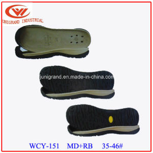 EVA Rubber Material Sandals Sole for Making Shoes pictures & photos