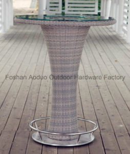 Outdoor Garden Rattan Bar Table and Bar Chars pictures & photos