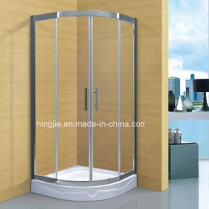 New 304stainless Steel Frame Temper Glass Shower Cubicle (A-8942) pictures & photos