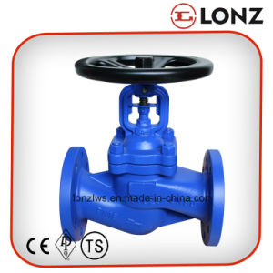 DIN Cast Steel GS-C25 1.7363 Bellow Seal Globe Valve pictures & photos