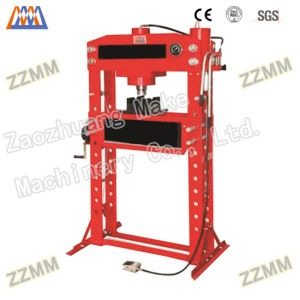 Pneumatic Mandrel Gantry Type Hydraulic Workshop Press (HP-63Q) pictures & photos