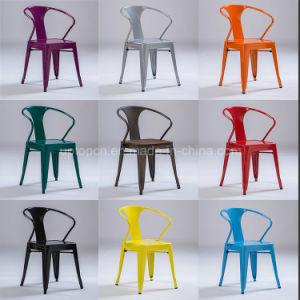 Colored Xavier Pauchard Metal Tolix Arm Chair (sp-mc039) pictures & photos