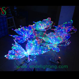 Fancy 3D Butterfly LED Motif Light Party Light Outdoor Light pictures & photos
