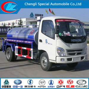 Foton 120HP 5000liter Mini Water Bowser Truck pictures & photos