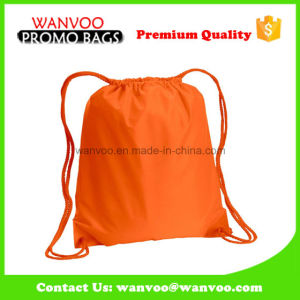 Buckled Front Pocket Drawstring Pack Bag pictures & photos