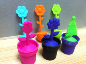Colorful and Multiple Silicone Tea Infuser/ Kitchen Silicone Tea Strainer pictures & photos