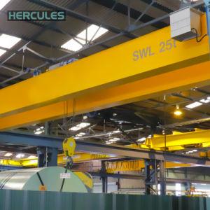 High Quality Double Beam Bridge Crane Lifting 40t pictures & photos