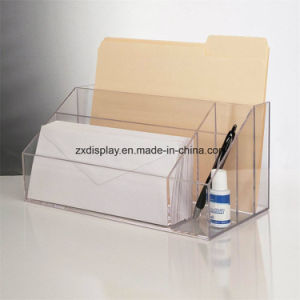 Premium Quality Clear Acrylic Craft and Desktop Organizer pictures & photos